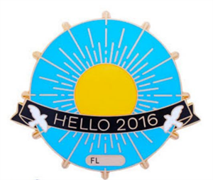 Hello 2016 Geocoin