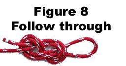 figure 8 Follow Through Knot