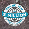 3 million active geocaches: Thank you!