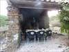 O forno e a sala de jantar