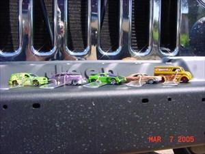 FANDANGO is well prepared. Vehicle on the left