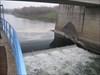 Damm des Flusses Körös Ungarn