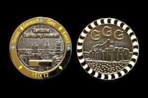 GGG coin 2 tone