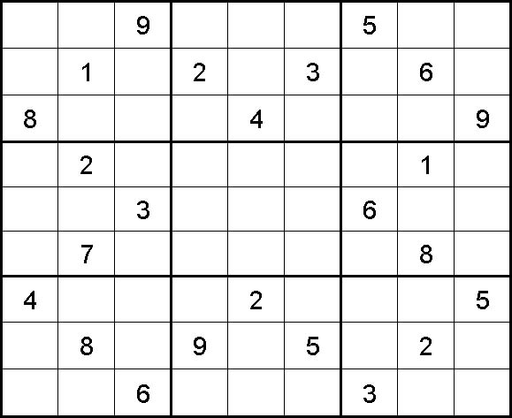 how to solve sudoku without pencil-marks