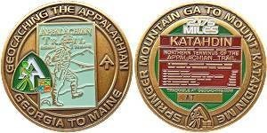 Appalachian Trail Final Geocoin
