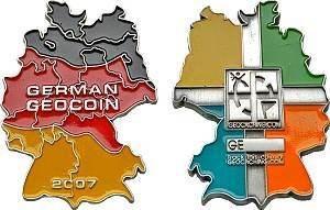Germany 2007 Series 2 Geocoin