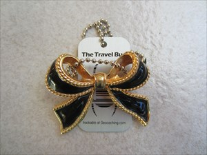 Black Ribbon Pin
