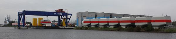 Banner mit Bard 5.0 Maschinenhäusern