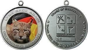 """Germany GeoCoin """"LYNX BACK AGAIN"""""""