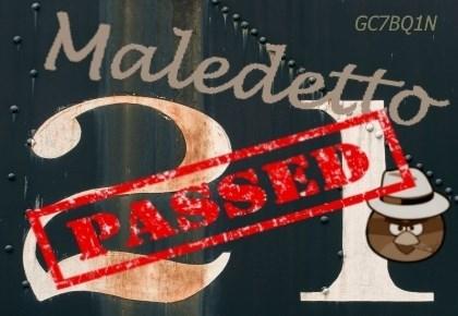 GC7BQ1N - Maledetto 21