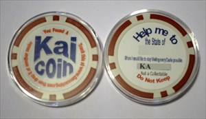 Kai Coin Stock image dropped Vegas area