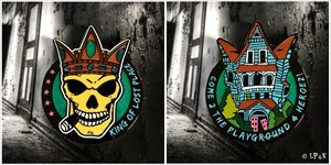 King of Lost Place Geocoin - King Miami LE 150