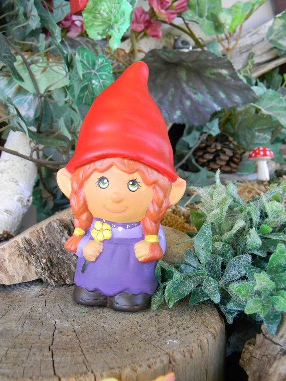 Girl Garden Gnome Designs