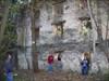 The barn wall