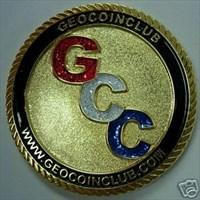 Geocoin Club Anniversary Coin
