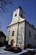 A nearby church
