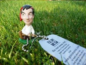 """Mr.Bean auf """"Gras"""""""