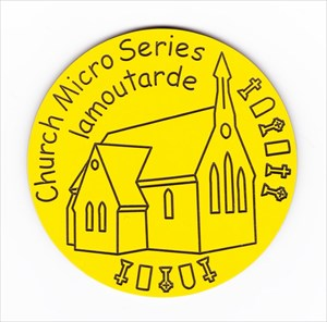 Lamoutarde's Church Micro Geocoin