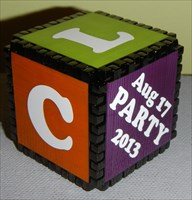 Block Party - cubed