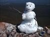 BCP455 - Snow man at Corkscrew Mountain Cap