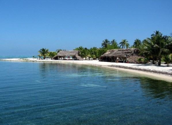 Pláže Belize