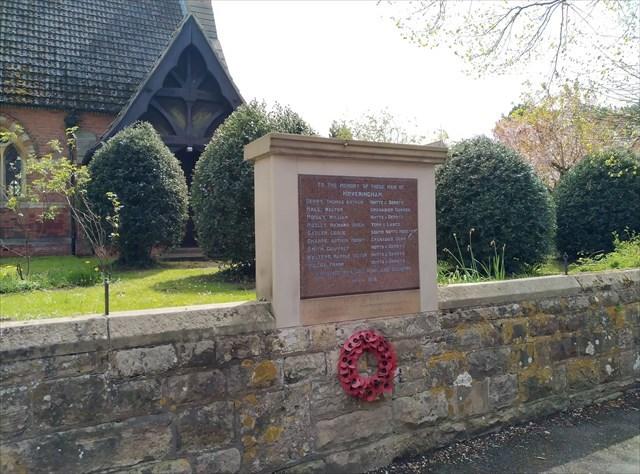 War Memorial, Hoveringham