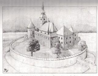 Celotna podoba nekdanjega turškega tabora na Goričici. (rekonstruiral stavbenik Josip Sršen)
