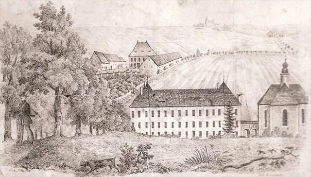 zamek lany koncem 18.stol.ii