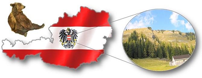 Geographischer Mittelpunkt Österreich