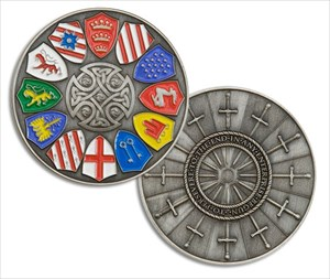 Tb4nyn1 knights of the round table geocoin knights of for 12 knights of the round table