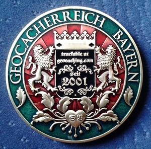High - Bayern Geocoin 1.0
