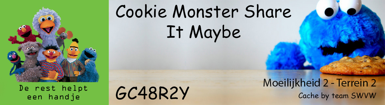 Cookie Monster Share It Maybe - GC48R2Y
