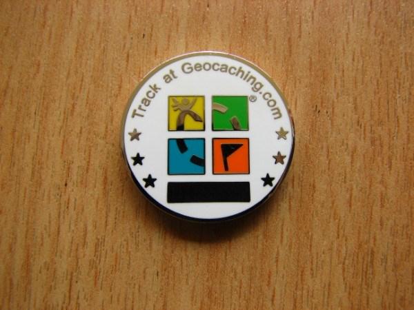 The Netherlands Flag Micro Geocoin - back