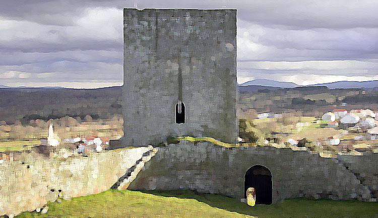 Castelo de Vilar Maior (visto de dentro)