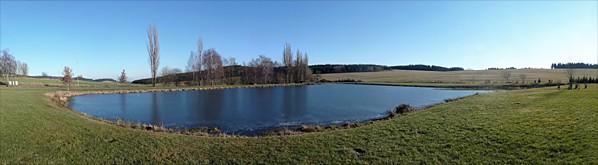 Rybník v Libkově