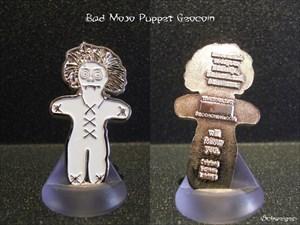 Bad Mojo Puppet Geocoin
