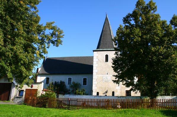 Kostel sv. Martina od jihu