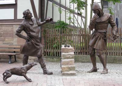 Denkmal Würfelturmsage