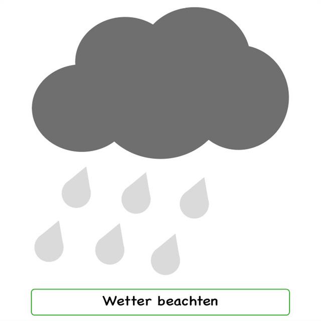 Wetter beachten