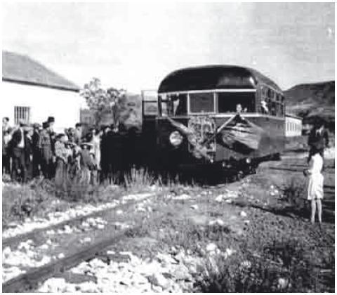 Chegada do primeiro comboio a Porto de Mós