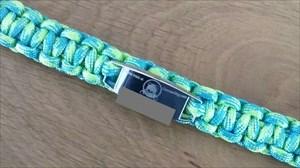 Een nieuw fris armbandje aan gemaakt ??