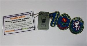Bearsted Scout Leader Centenary Badge