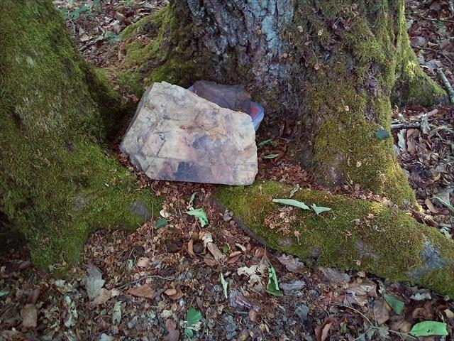 Steine auf Kiste