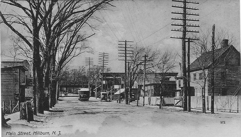Main Street: Millburn, New Jersey - Circa 1900