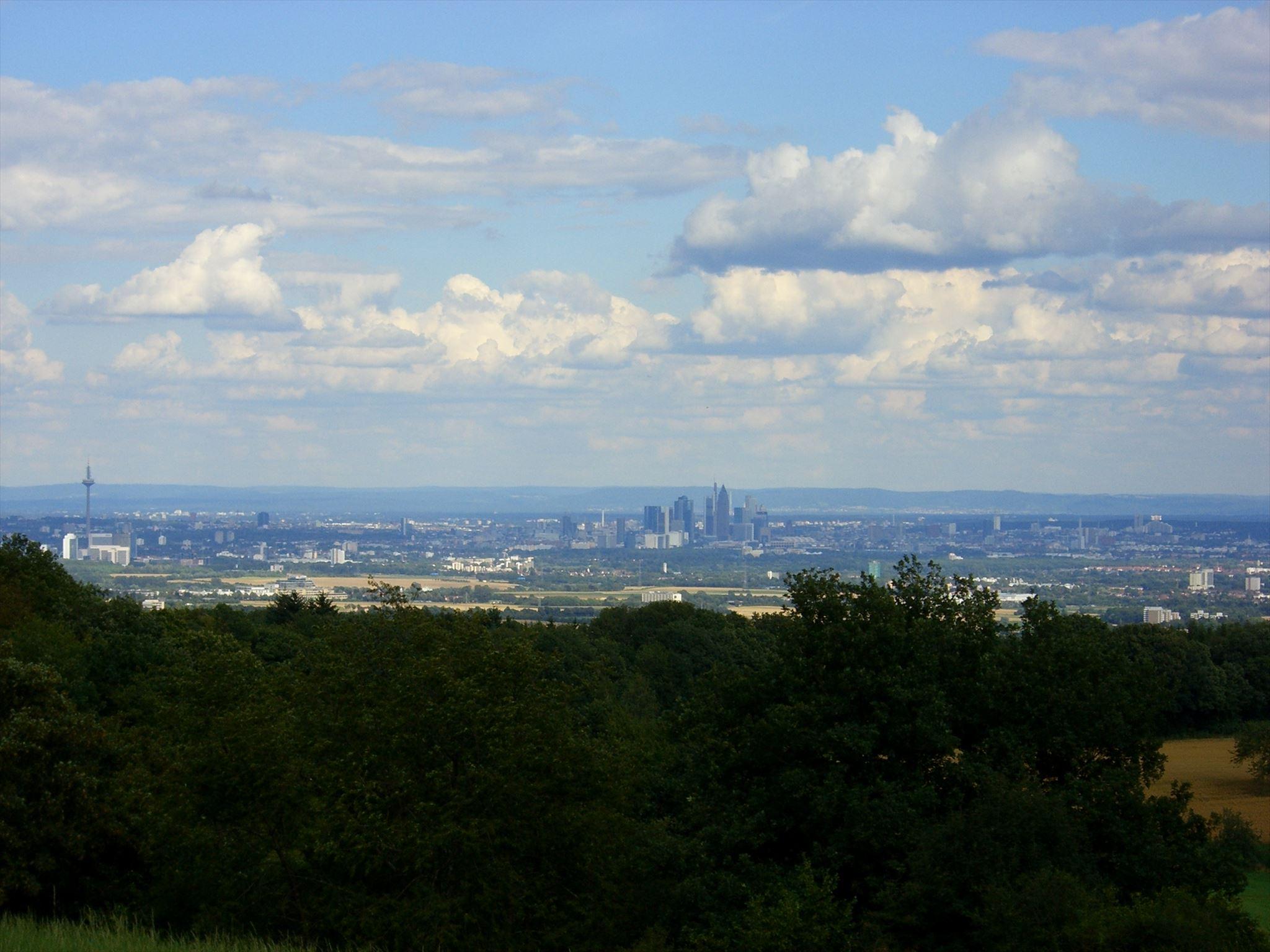 Panorama vom Hahnenkopf