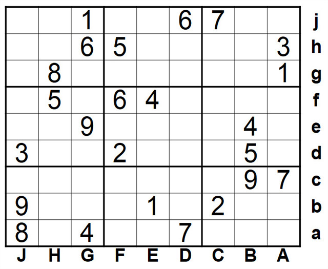 Oost sudoku