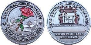 """Regions of Germany"" - Hildesheim Geocoin"