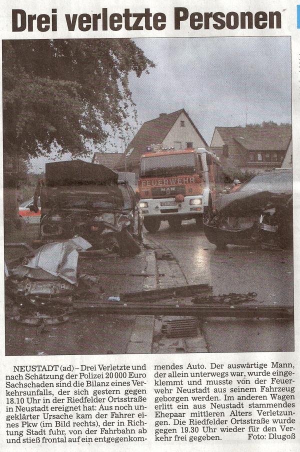 Unfallbericht