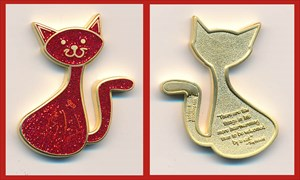 CacheCat Geocoin - Miracle Cat LE
