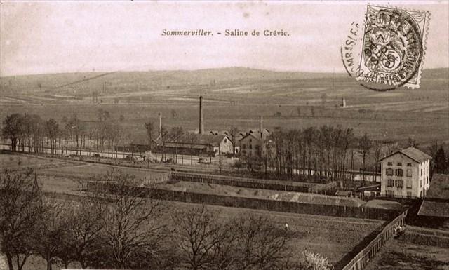 La saline de Crévic (avant 1905)